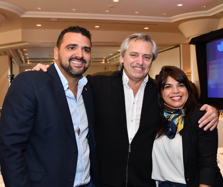 con Anibal Fernández