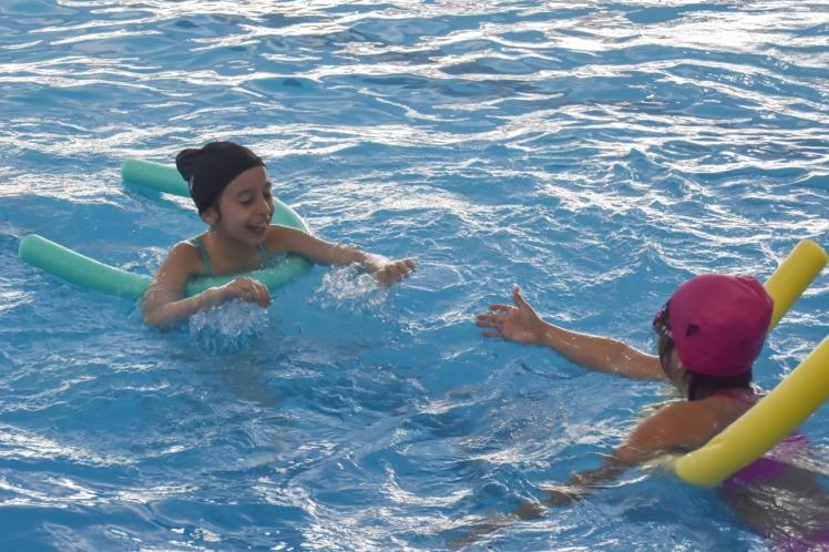 pileta libre en natatorios