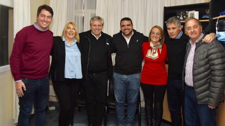 W con Fernandez, Bertone, Perez, Alicia, Pablo Gonzalez, Carlos Linares